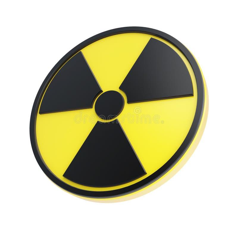 A radioactividade canta ilustração stock