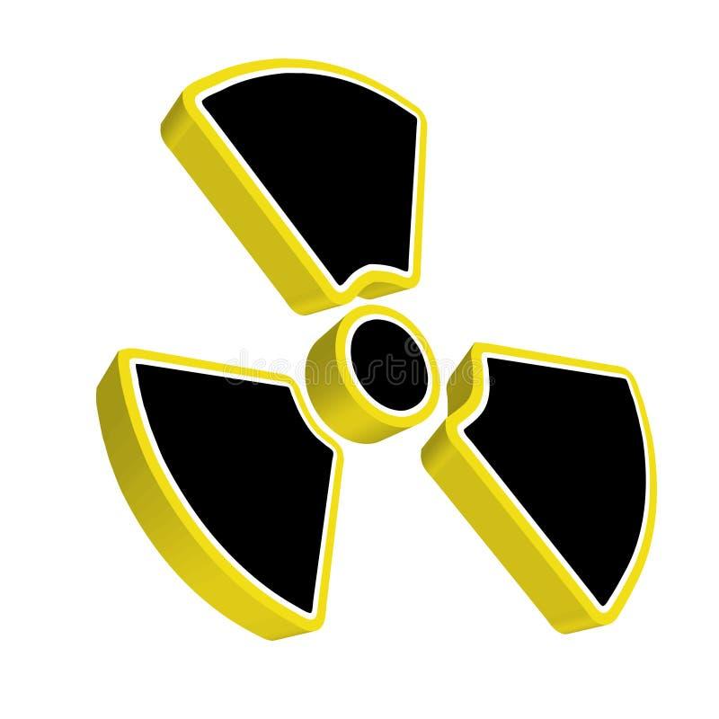 radioactivity vektor illustrationer