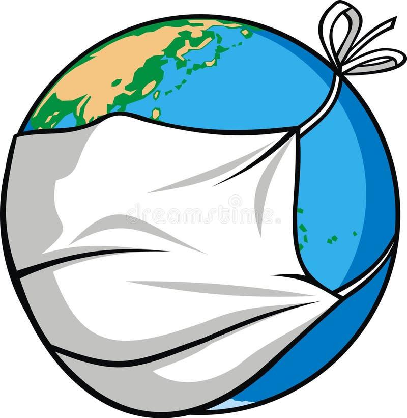 Free Radioactivity And World Map Royalty Free Stock Photos - 66878078