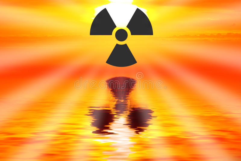 Radioaktiv lizenzfreie stockfotos