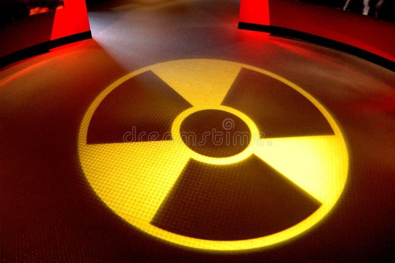 Radioaktiv stockbilder