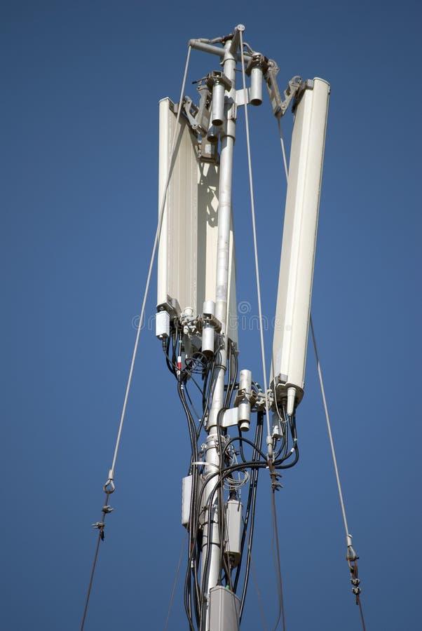Radioantennes stock foto