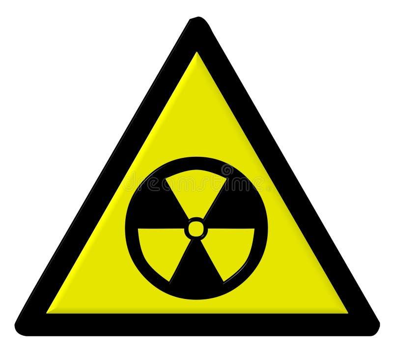 Radioattivo illustrazione vettoriale
