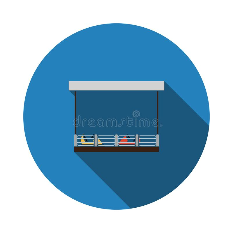 radiobilsymbol stock illustrationer