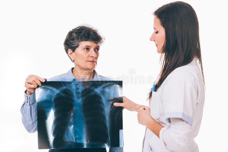 Radiografía de los pulmones fotos de archivo libres de regalías