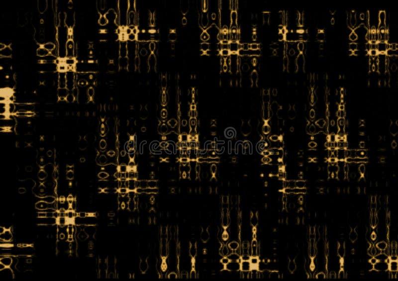 Radiografía mística del código imagen de archivo