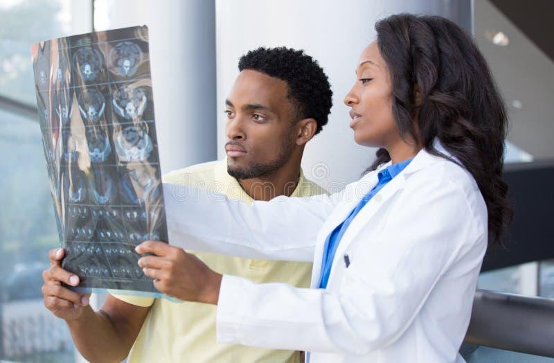 Radiografische Diskussion lizenzfreie stockfotografie