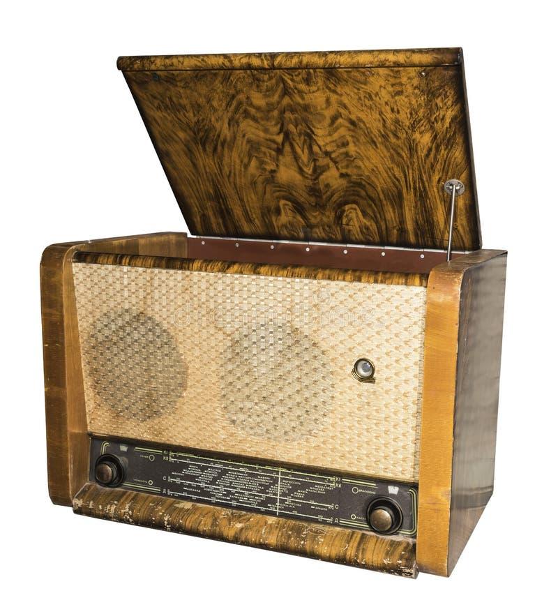 Radiogramophone (radio con el jugador) 1953 Rusia fotografía de archivo libre de regalías