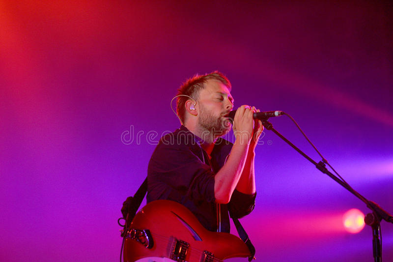 RADIOHEAD fotos de stock
