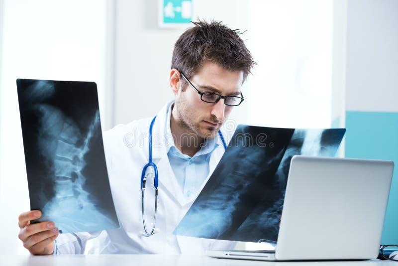 Radiologenexamen stock fotografie