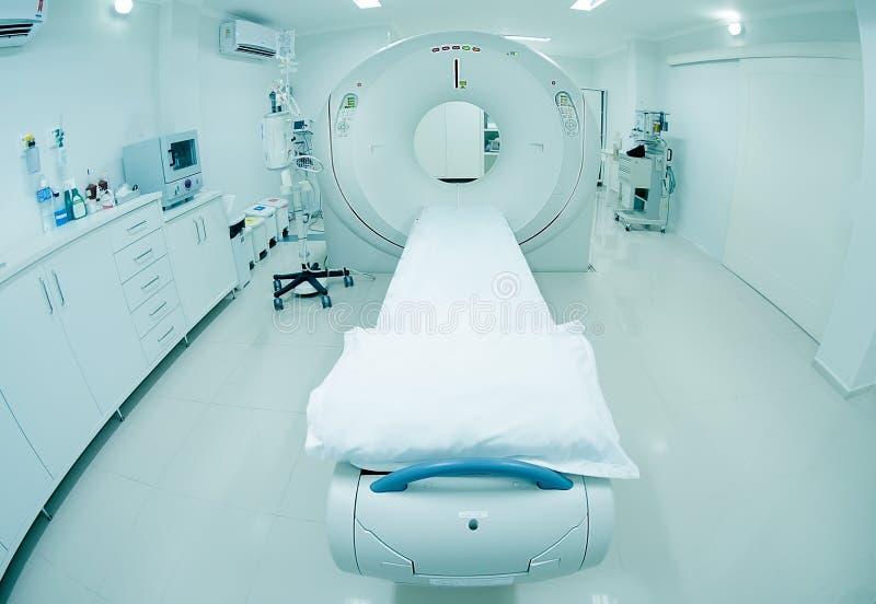 Radiologi för Oncology för Tomographsjukhus vård- royaltyfri foto