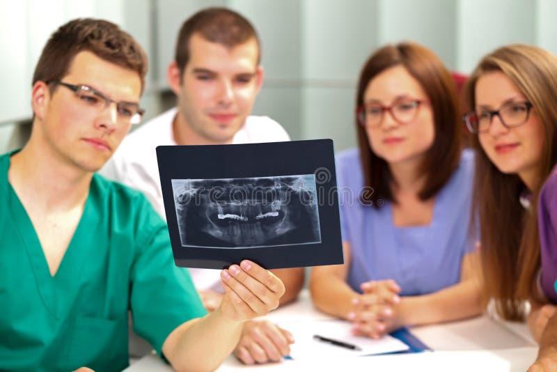 Radiologiczna analiza obrazy royalty free