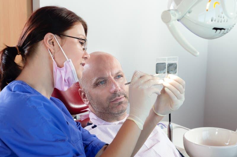 Radiologiczny czek obrazy stock