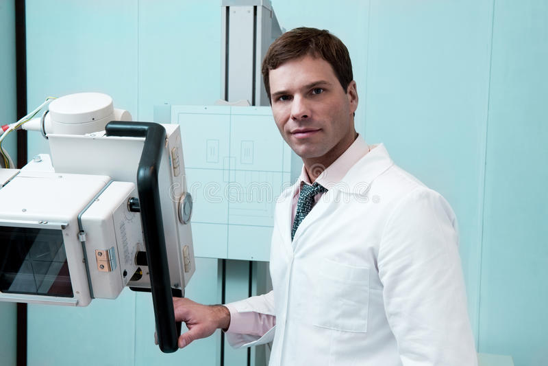 Radiologista foto de stock