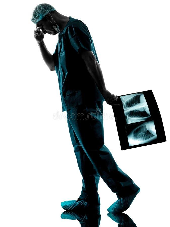 Radiologista do cirurgião do doutor imagem de stock