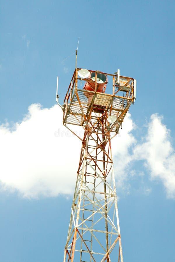 Radiophare de navigation de cru photo libre de droits
