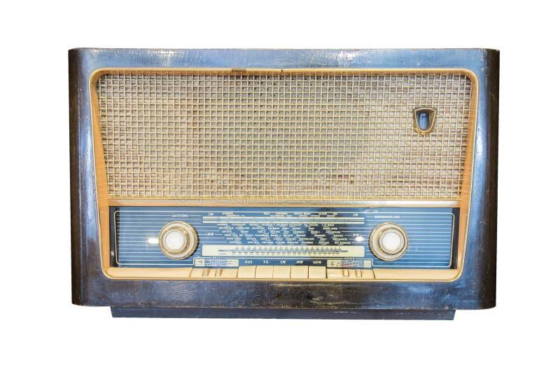 Download Radioricevitore Anziano Dell'isolato Di Secolo Scorso Immagine Stock - Immagine di broadcasting, tasti: 55358393