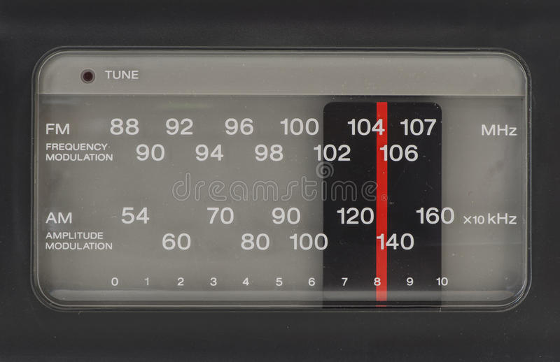 Radiosände FM-FÖRMIDDAG arkivbilder