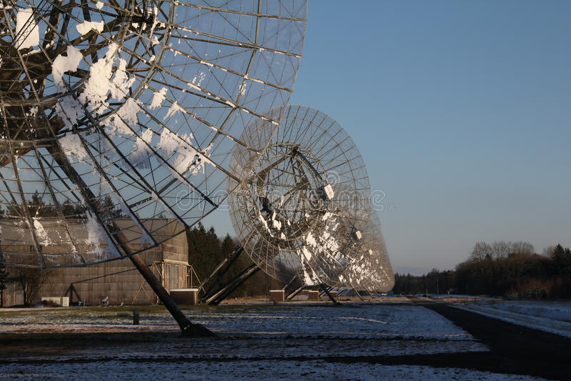 Radiosände observatoriumet fotografering för bildbyråer