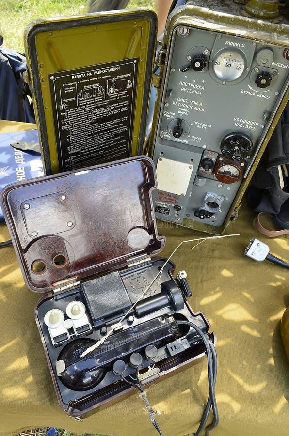 Radiostation fotografering för bildbyråer
