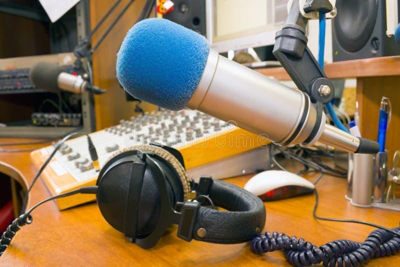 radiostation royaltyfri foto