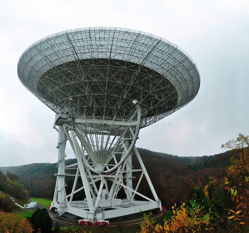 Radiotélescope Effelsberg image stock