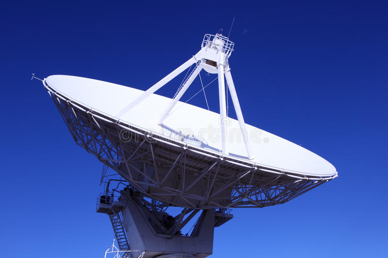Radiotelescope. S at the Very Large Array, the National Radio Observatory in New Mexico royalty free stock photos