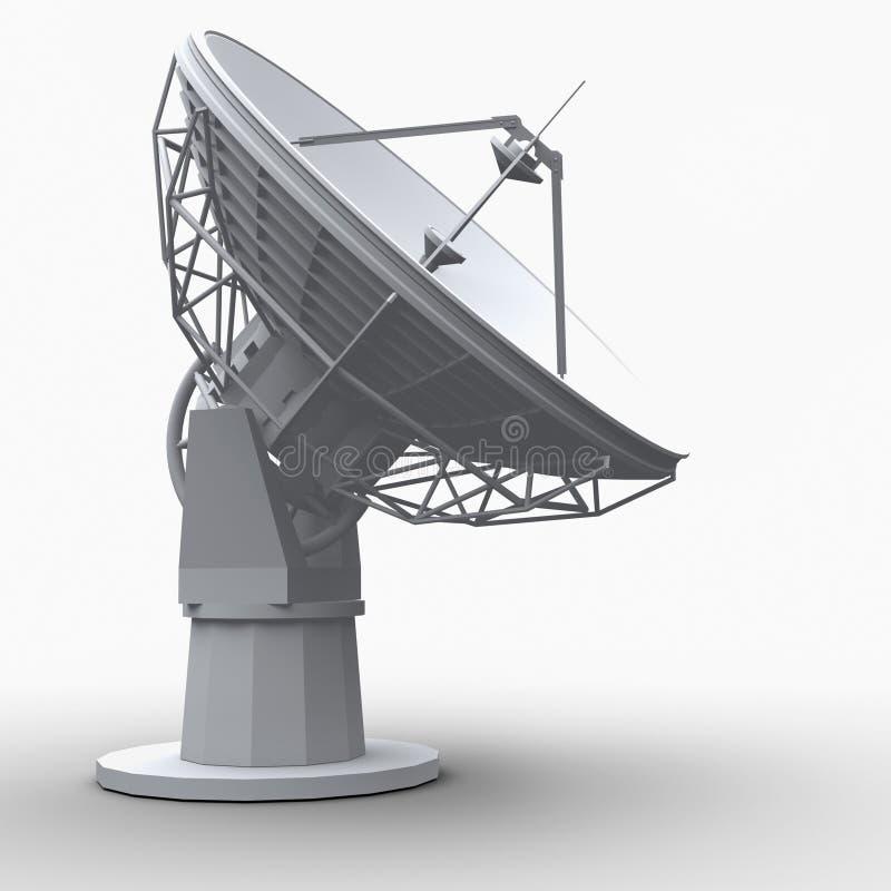 radiotelescope иллюстрация вектора