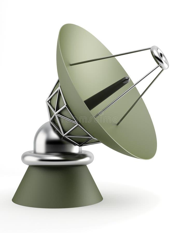 radiotelescope stock illustrationer