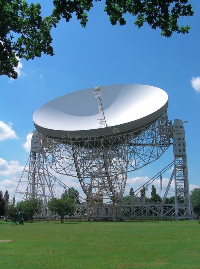 Radioteleskop stockfotografie