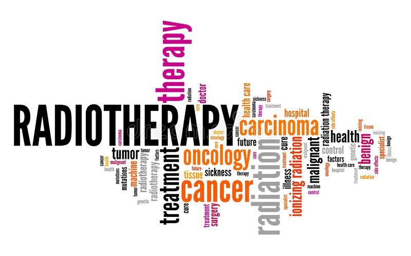 radioterapia royalty illustrazione gratis