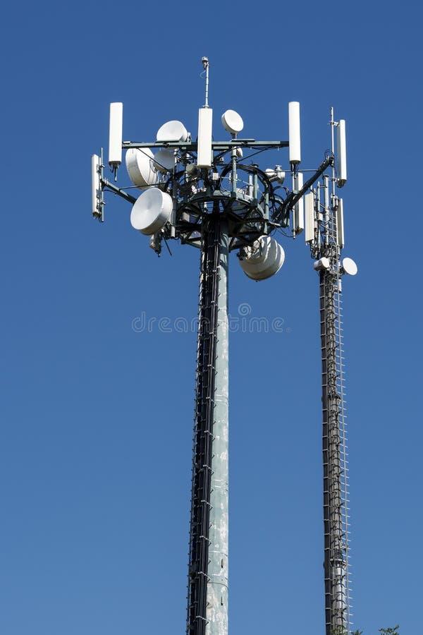 Radioverbinding stock foto's
