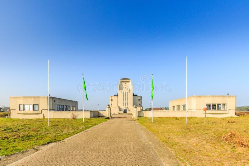 Radioweg 3 Radio Kootwijk gemeente Apeldoorn, provincie Gelderland Nederland stock afbeelding