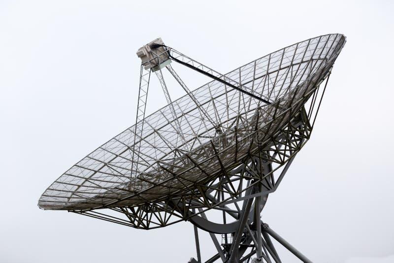 Radiowego teleskopu naczynie fotografia stock