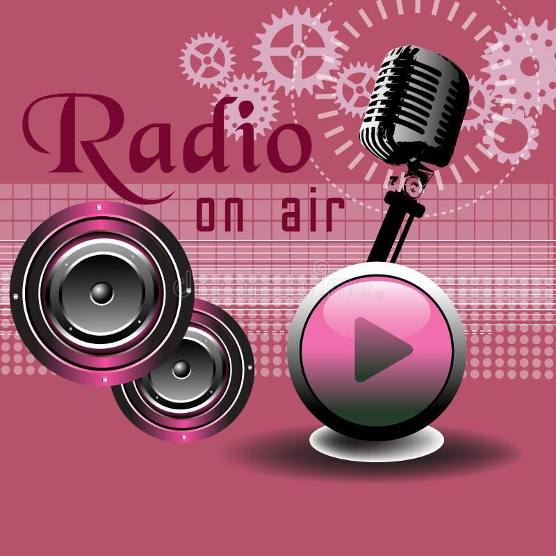 Radiowy pojęcie ilustracja wektor