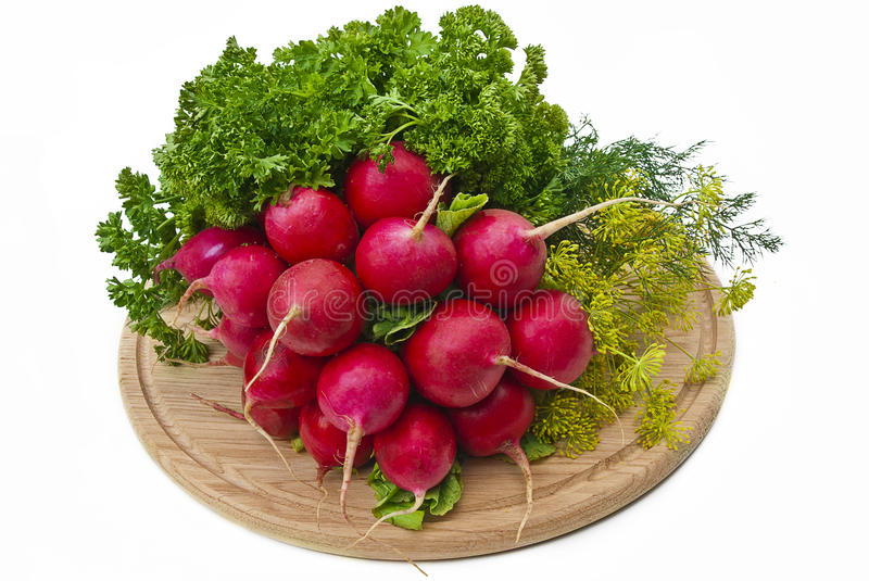 Radish And Other Vegetables Stock Photo