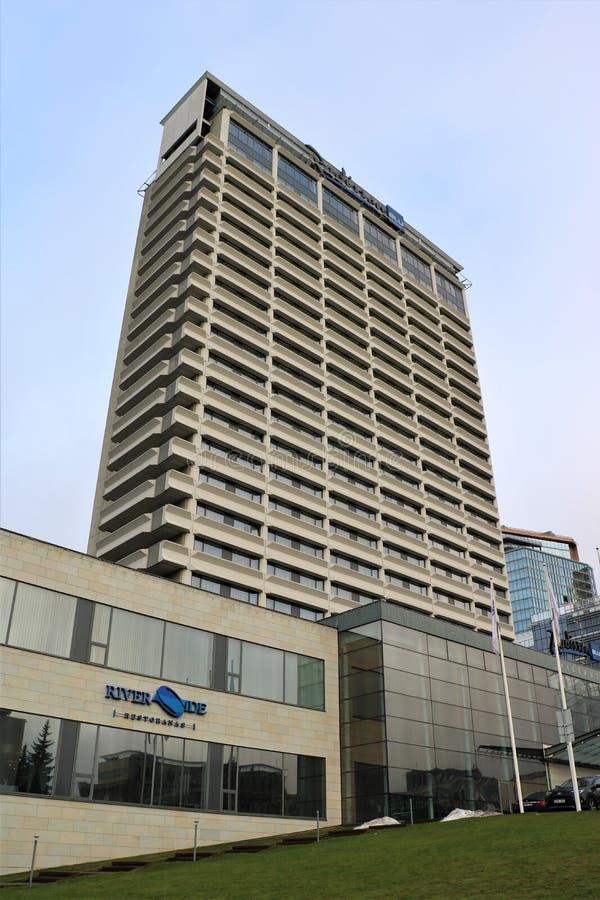 Radisson Blu Hotel Lietuva fotografie stock libere da diritti