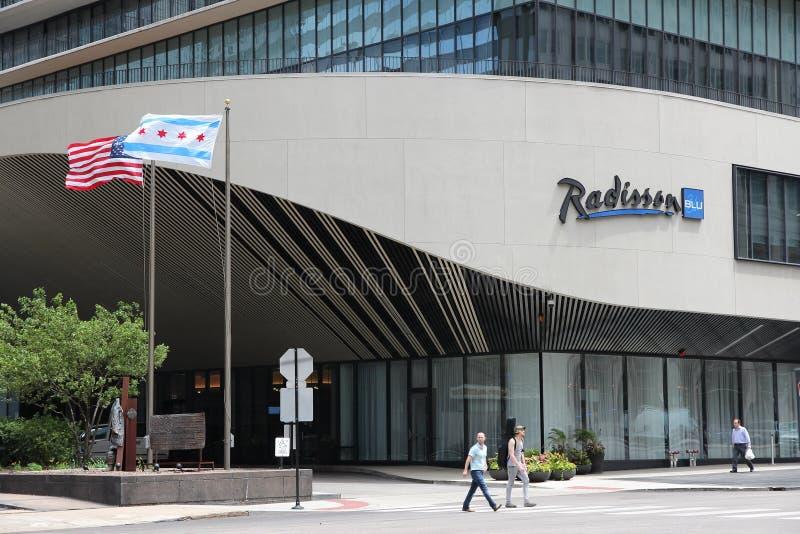 Radisson hotel fotografia stock