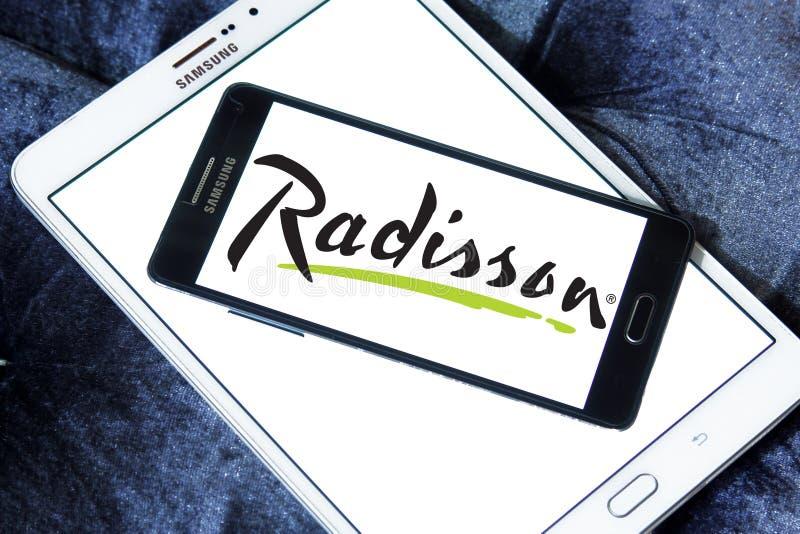 Radisson hotelllogo royaltyfri foto