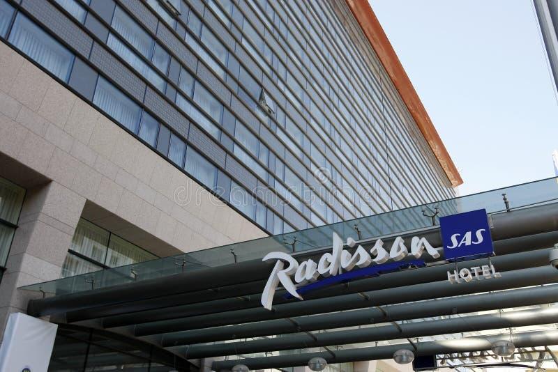 Radisson SAS Hotel royalty free stock photo