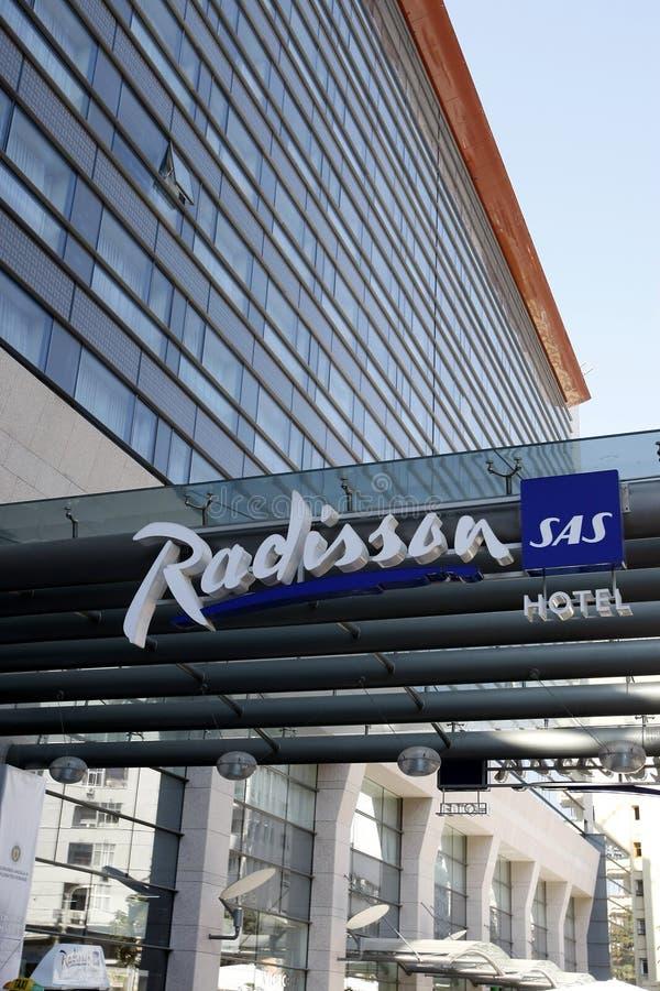 Radisson SAS Hotel stock photo