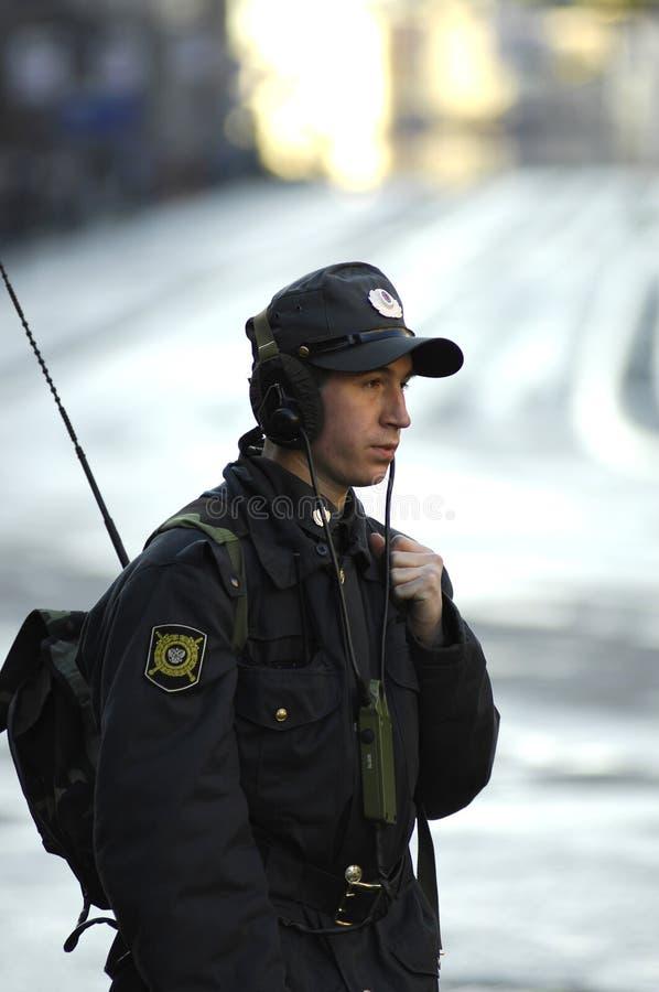 Radist on a Military Parade