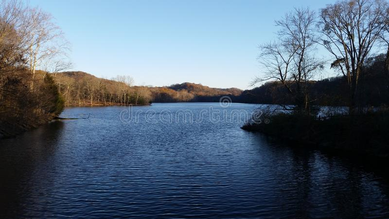 Radner lake royalty free stock photography