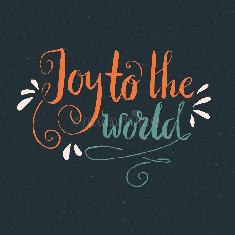 radość świata royalty ilustracja