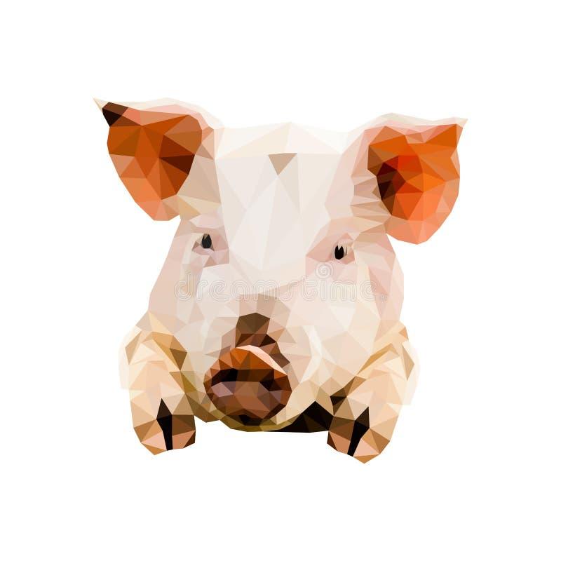 Radosna świnia royalty ilustracja