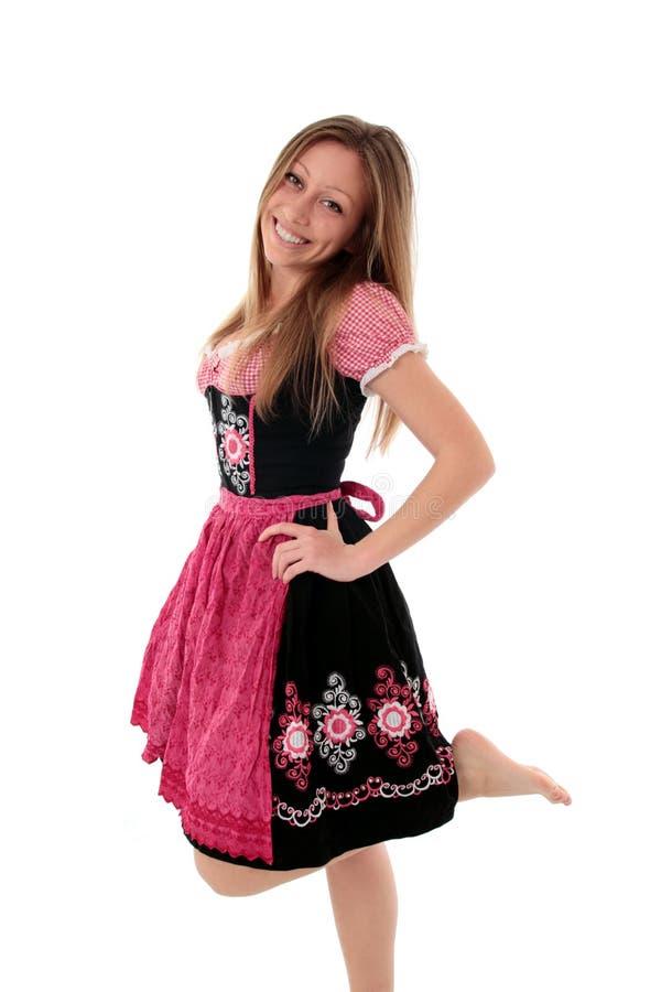 Download Radosna Dirndl Kobieta Zdjęcie Royalty Free - Obraz: 25494425