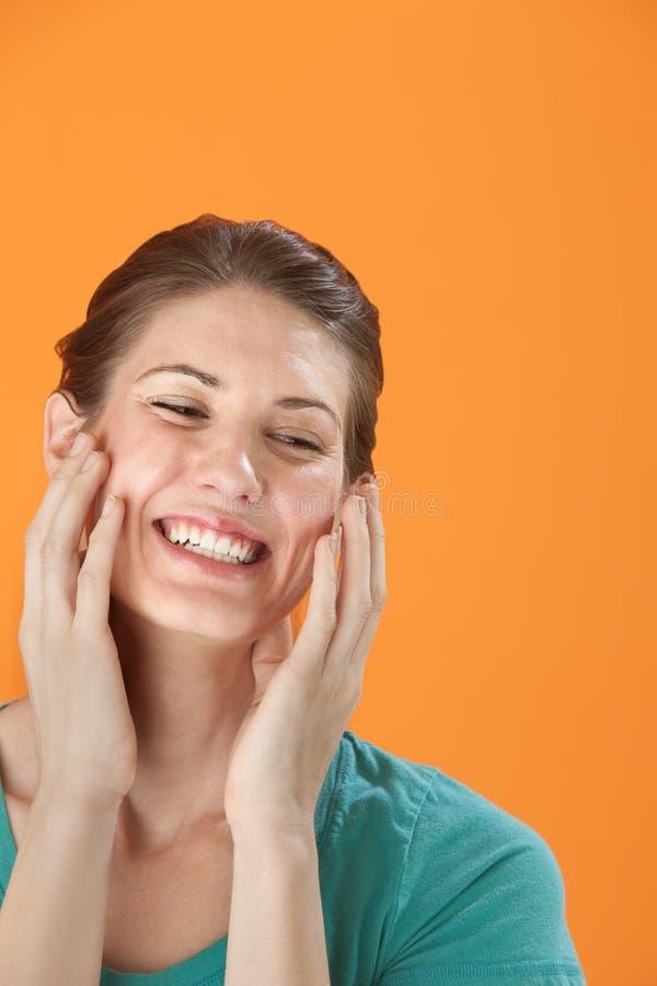 radosna kobieta obrazy royalty free