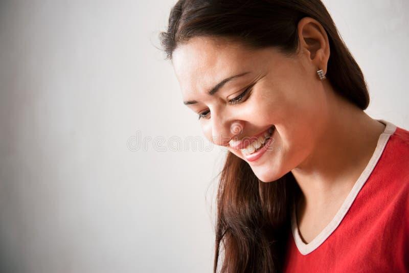 radosny dziewczyna piękny hindus zdjęcie royalty free