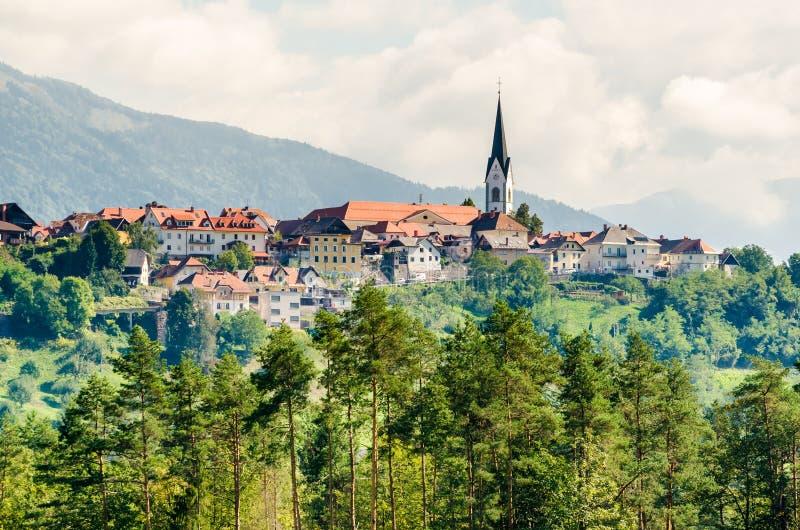 Radovljica, Slowenien lizenzfreie stockbilder