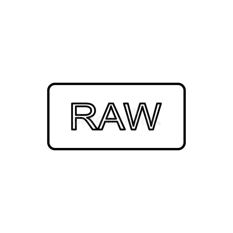 radtillträdessymbol Beståndsdel av den enkla symbolen för websites, rengöringsdukdesign, mobil app, informationsdiagram Tunn linj vektor illustrationer